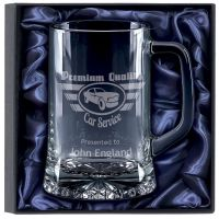 Trojan Glass Tankard Gift Set  </br>KA042